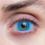Карнавальные линзы Lensmam Solar Blue